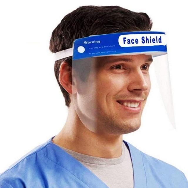 페이스쉴드 보안면 10개입 페이스투명마스크 안면보호 페이스필름