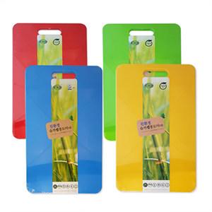[친환경제품]사탕수수 칼라도마(대)435x255x12(mm)