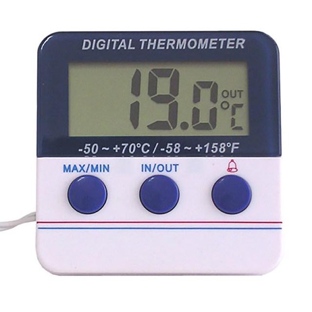 디지털 냉장고 온도계 DTA-5070 측정범위 -50도 +70도