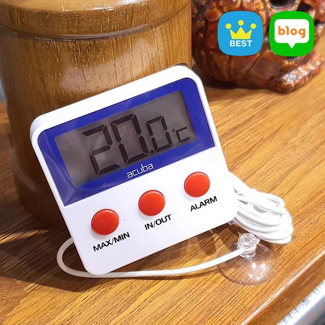 아쿠바 디지털 냉장고 온도계 CS-001